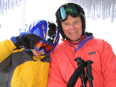 Two of Three Generations on the Gondola
